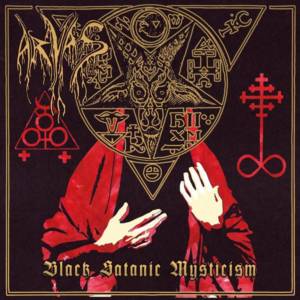 ATMF033 – ARVAS – BLACK SATANIC MYSTICISM
