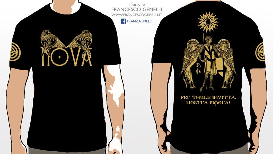 NOVA first official t-shirt
