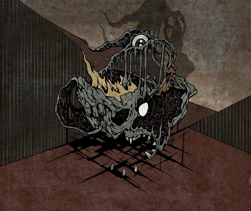 ATMF039 – HAAR / UR DRAUGR – Ur Draugr / Haar (split 4-panel Digipak cd)