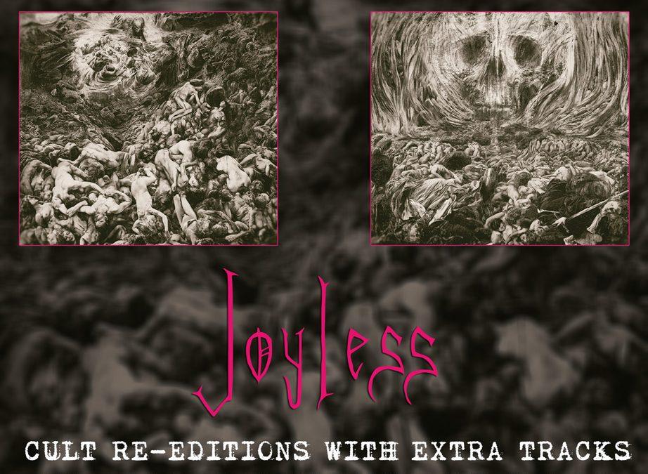 """JOYLESS – """"Unlimited Hate"""" & JOYLESS – """"Wisdom & Arrogance"""" Cult 008/009"""