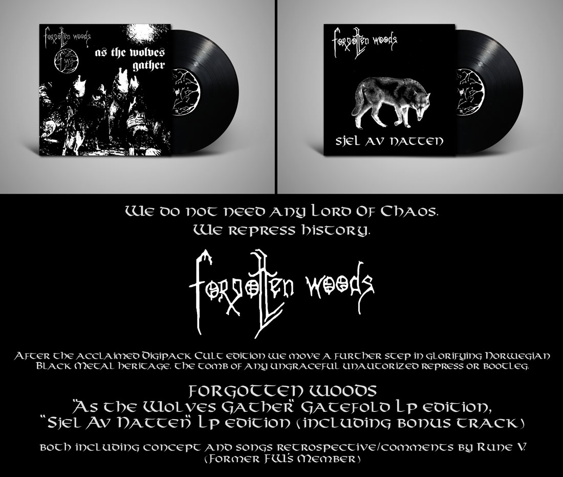 Forgotten Woods LP
